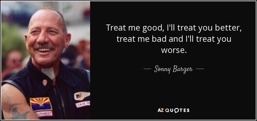 TOP 25 QUOTES BY SONNY BARGER