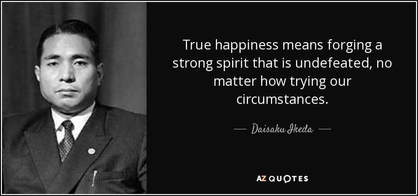 what does true happiness mean