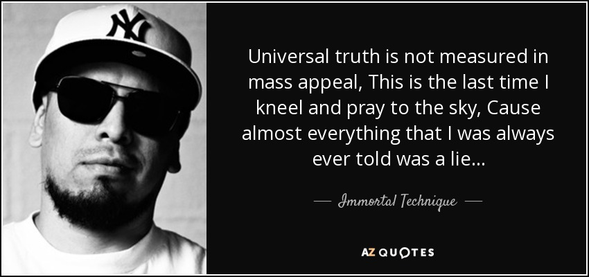 Is there universal truth?
