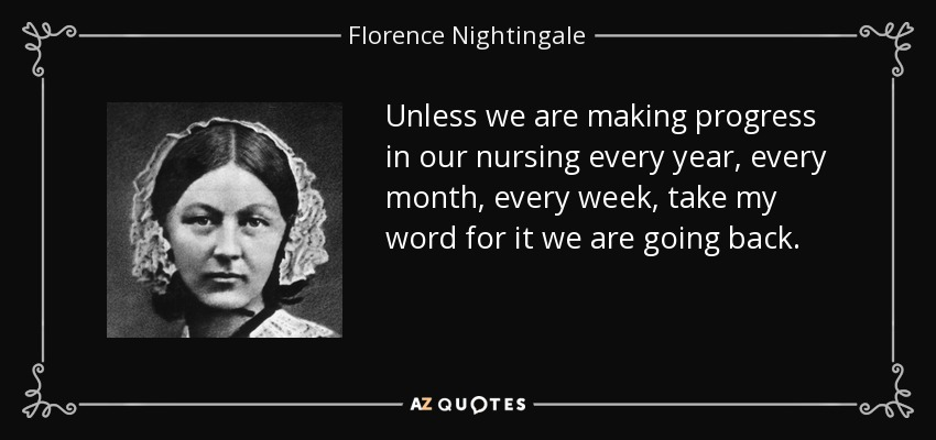 Florence nightingales views on holistic care provided by nurses