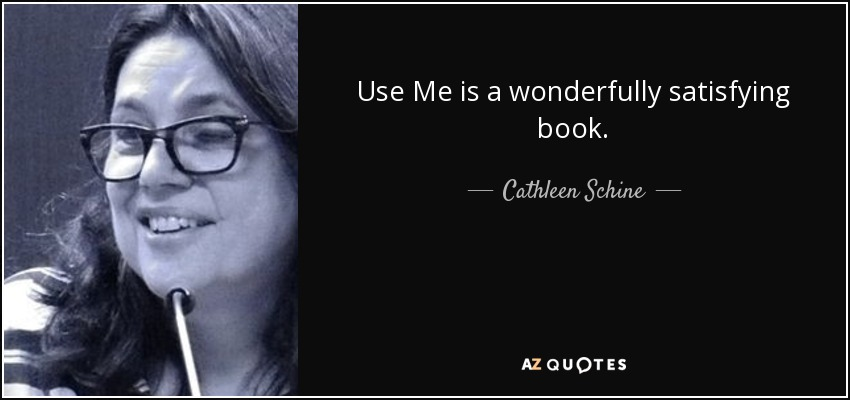 Use Me is a wonderfully satisfying book. - Cathleen Schine
