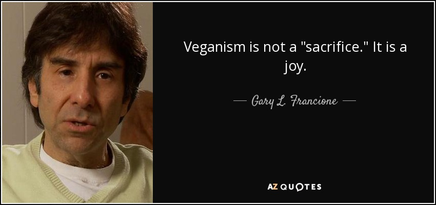 Veganism is not a