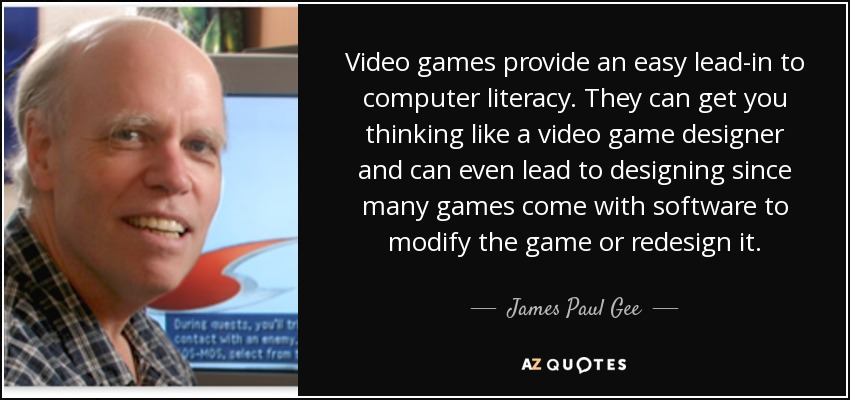 james paul gees introduction to literacy Literacy and education tells the story of how acclaimed scholar james paul gee shows readers how literacy left the mind introduction chapter 2: literacy.