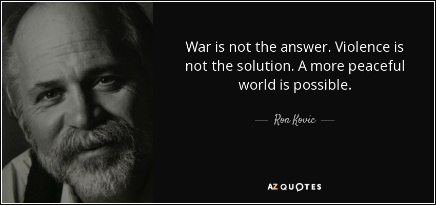 Love Is Not Abuse Quotes: TOP 6 QUOTES BY RON KOVIC