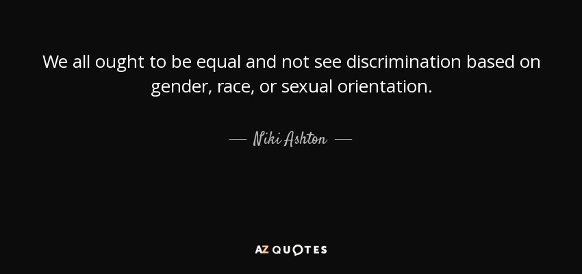 Sexual orientation equality quotes