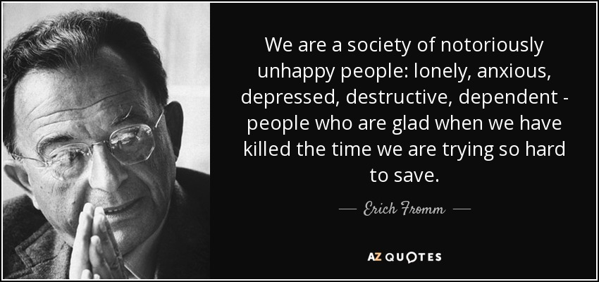 Image result for erich fromm sane society