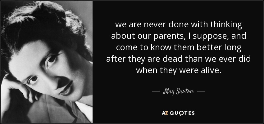 as we are now by may sarton essay Free essay: the book as we are now, written by may sarton, targets those concerned with the care of elderly individuals in nursing homes in the book, sarton.