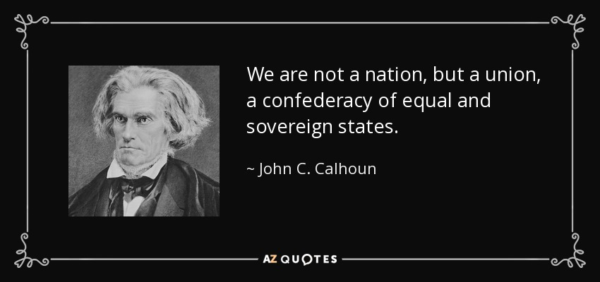 equality and liberty in rousseau calhoun
