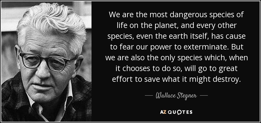 wallace stegner vs william cronon Wallace stegner, beyond the hundredth william cronon, changes in the land: microsoft word - environmental and western history (fall 2010)(2)doc author.