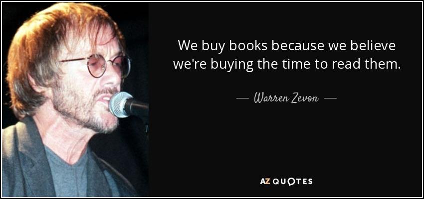 We buy book report