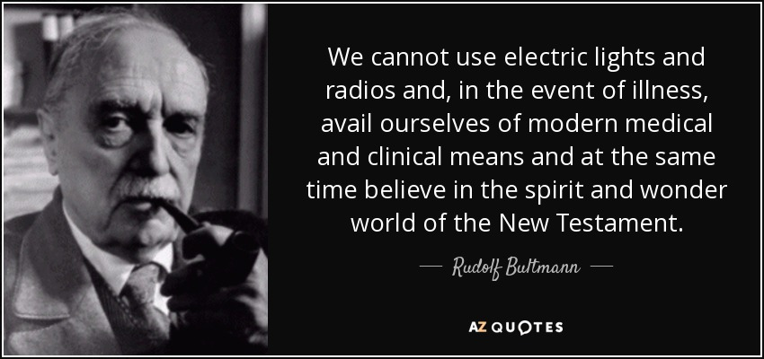 TOP 10 QUOTES BY RUDOLF BULTMANN | A-Z Quotes