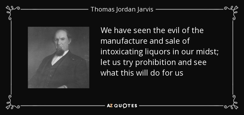an analysis of the prohibition of intoxicating liquor in america 18th amendment to the us constitution (prohibition)  constitution prohibited  the manufacture, sale, or transportation of intoxicating liquors  the collection  includes an essay on the songs of the temperance movement and prohibition.
