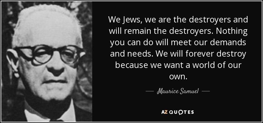 Maurice Samuel o Żydach