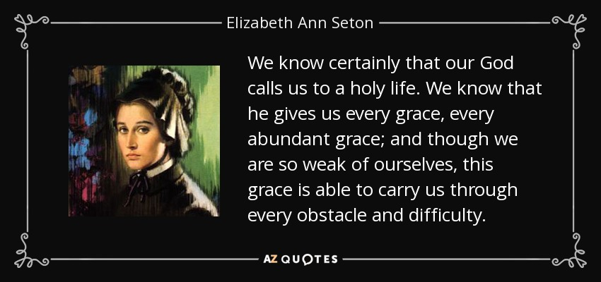Top 20 Quotes By Elizabeth Ann Seton A Z Quotes