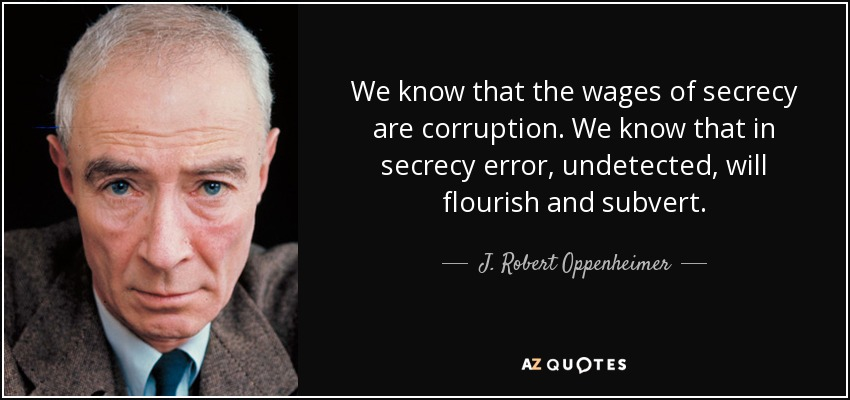 70 Quotes By J Robert Oppenheimer Page 2 A Z Quotes