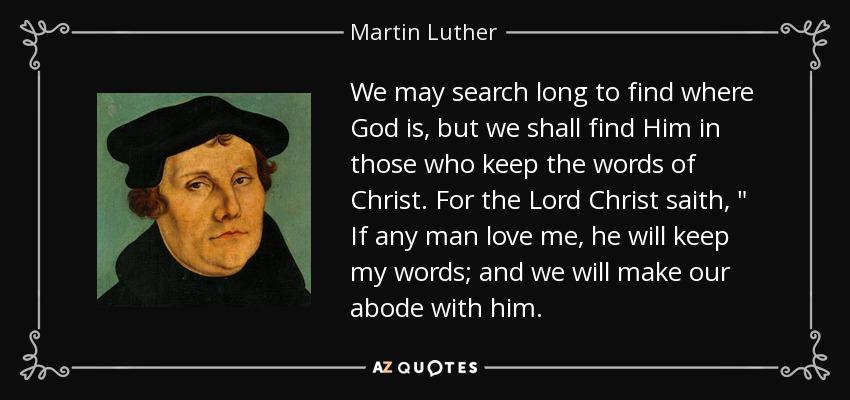 Martin Luther  Akteure Projekte Materialien Impuls