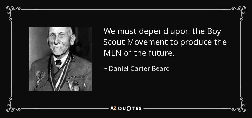 QUOTES BY DANIEL CARTER BEARD