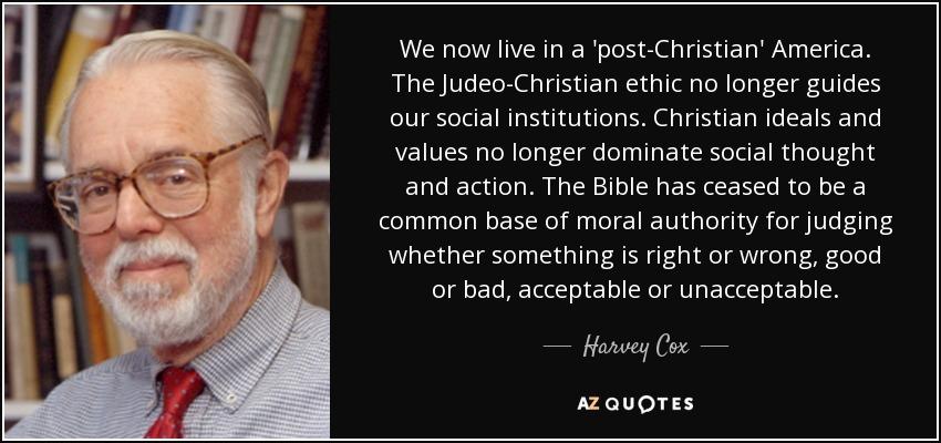 Judeo-Christian ethics