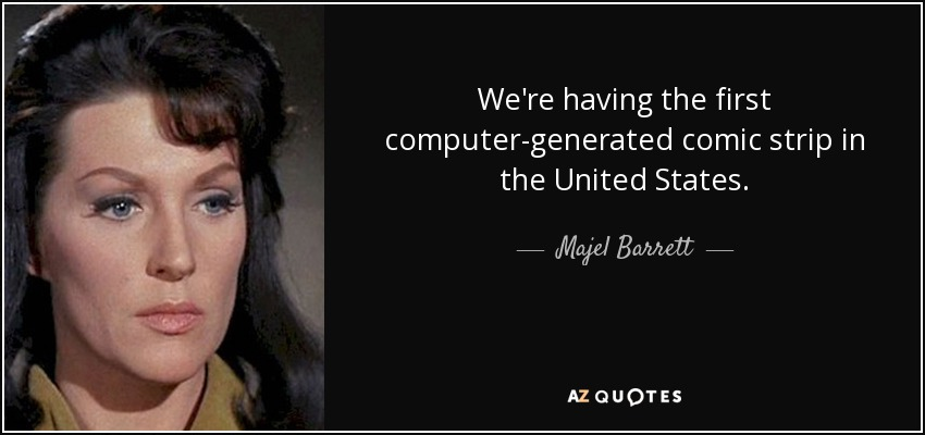 Majel Barrett quotes