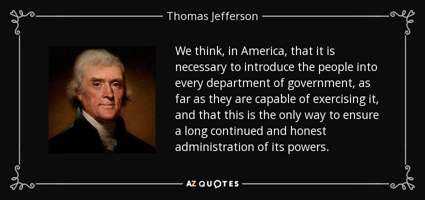thomas jeffersons impact on america Thomas jefferson was not only the writer of the declaration of thomas jefferson had little success with his efforts to reform the american education system.