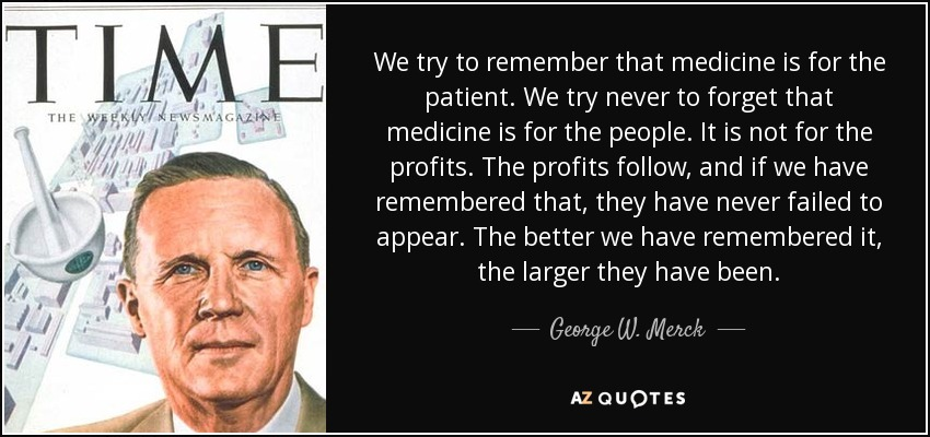 Quotes By George W Merck A Z Quotes