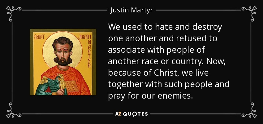 TOP 25 QUOTES BY JUSTIN MARTYR | A-Z Quotes