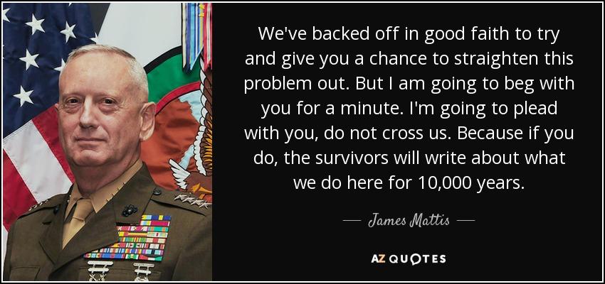 General Mattis Quotes Magnificent TOP 48 QUOTES BY JAMES MATTIS Of 48 AZ Quotes