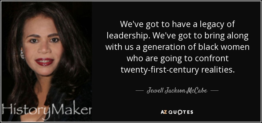 Quotes By Jewell Jackson Mccabe A Z Quotes