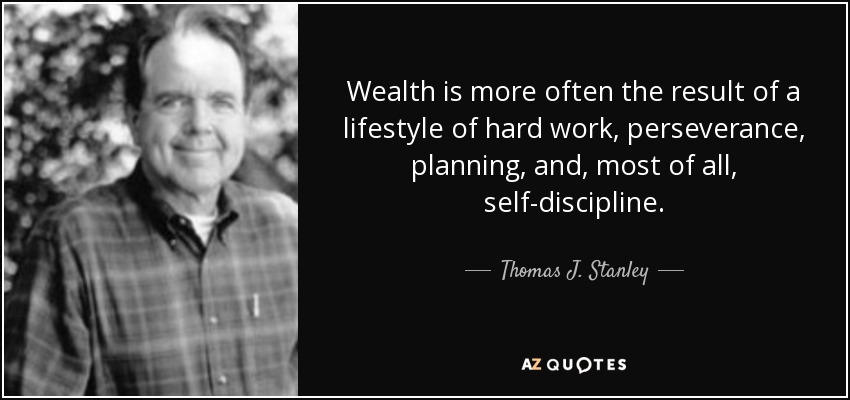 TOP 13 QUOTES BY THOMAS J. STANLEY