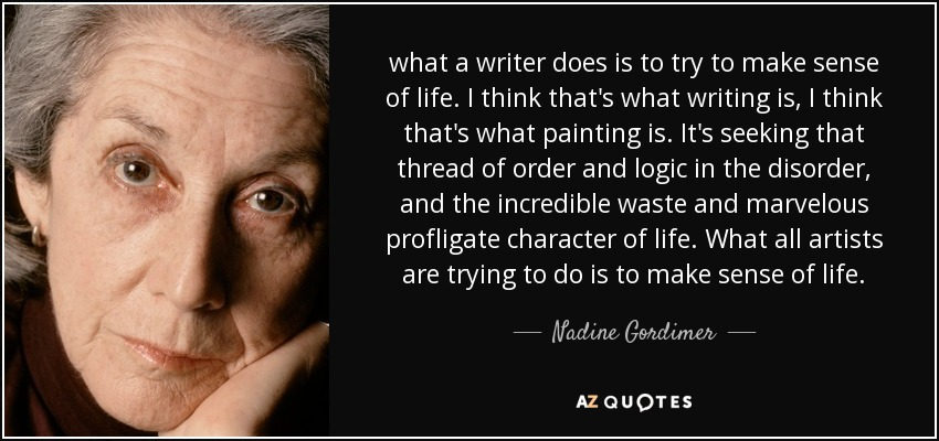 """how does the writer make the What does a writer do - words, words, words the answer to """"what do writers do"""" is both simple and complex: they write anybody at all who writes is a writer."""