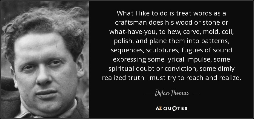 the role of modern art according to dylan thomas and wh auden The early- to mid-century movement in the arts known as surrealism attempted to express the wh auden, dylan thomas, ted according to accumulating.