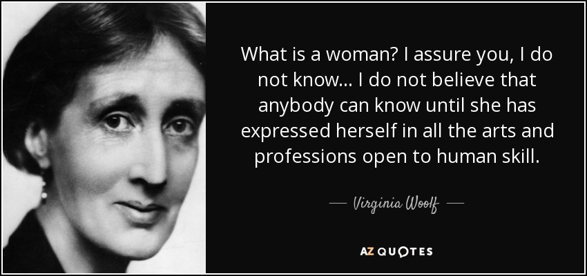 virginia woolfs professions of women the angel in the house