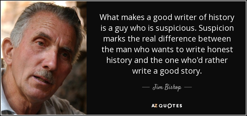 what makes a good historian essay 'one thing that you will come to understand is that in history there are no right answers' it's true that supervisors often have different views on what constitutes a 'good' essay but usually only articulate them when something isn't working in your writing.