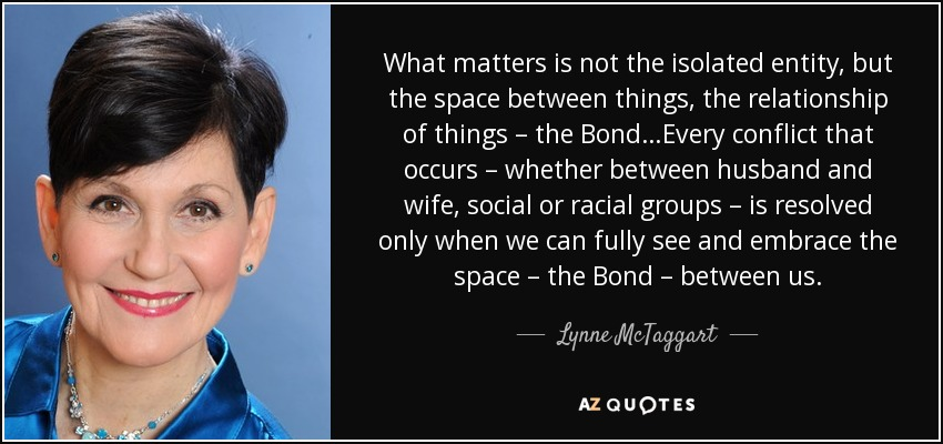 Lynne Mctaggart Quote What Matters Is Not The Isolated Entity But