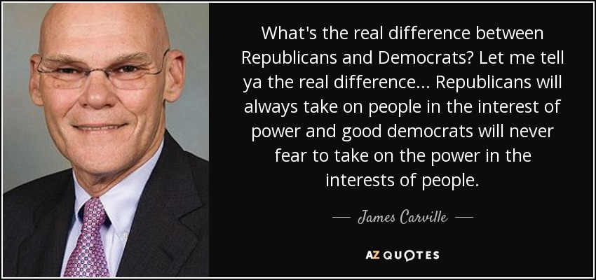 a interview of parent about differences between democrat and a republican The c-span network includes three television channels (c-span, c-span2 and c-span3), one radio station and a group of websites that provide streaming media and archives of c-span programs.