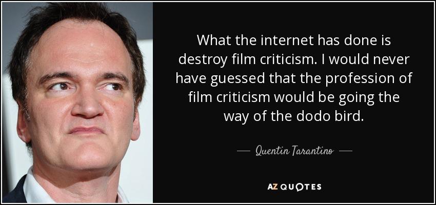 Top 14 Film Criticism Quotes A Z Quotes