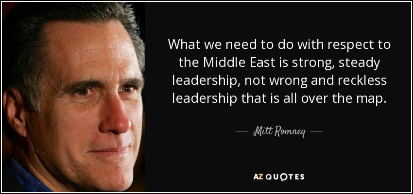 Mitt Romney Quote What We Need To Do With Respect To The Middle