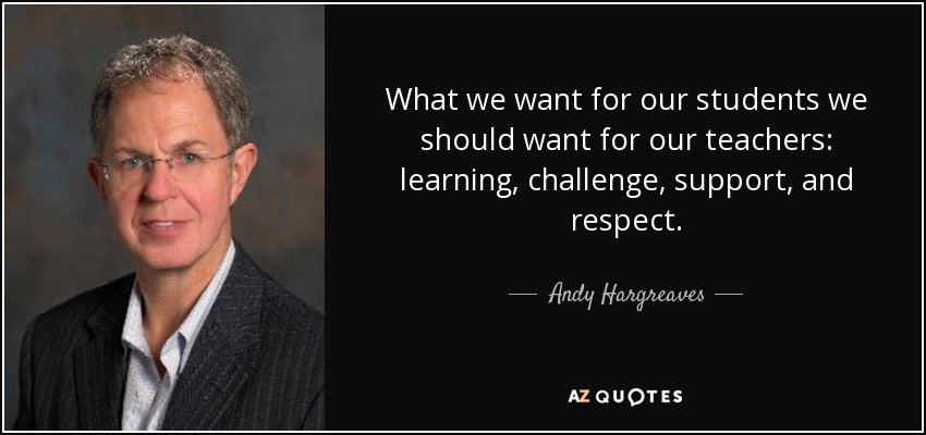 why we respect our teachers