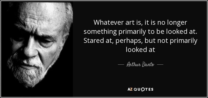 Arthur C. Danto Online Exhibition