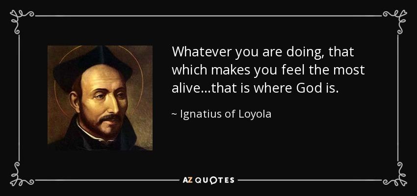 St Ignatius Quotes Enchanting Top 25 Quotesignatius Of Loyola Of 97  Az Quotes