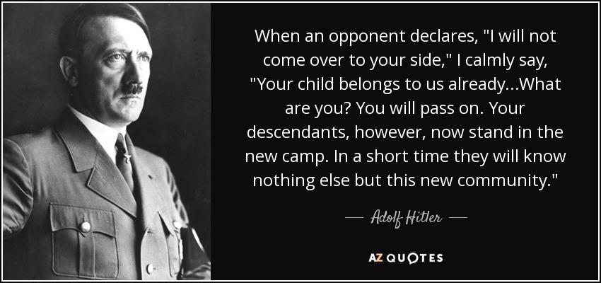 When an opponent declares,