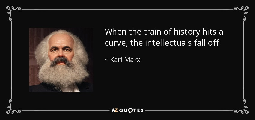 Image result for karl marx on intellectuals