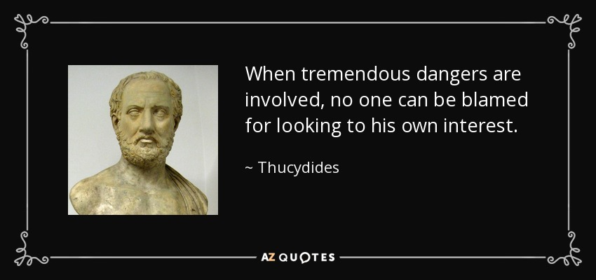 thucydide postulates balance of power involves athens and sparta Usurpation of such authority as it involved states other than athens in the balance of power between athens and the (thucydide et l.