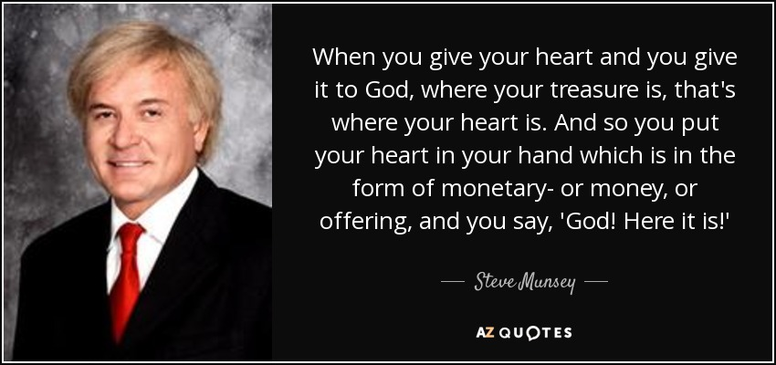 QUOTES BY STEVE MUNSEY | A-Z Quotes