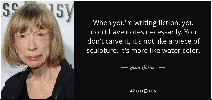 "didion essay why i write Joan didion on keeping a notebook meditation on self-respect — comes a wonderful essay titled ""on keeping a notebook didion asks: why did i write it."