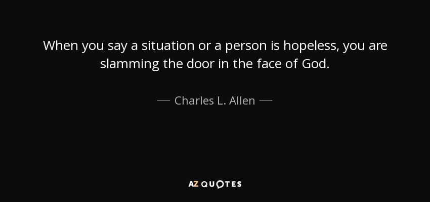 TOP 25 QUOTES BY CHARLES L. ALLEN | A-Z Quotes