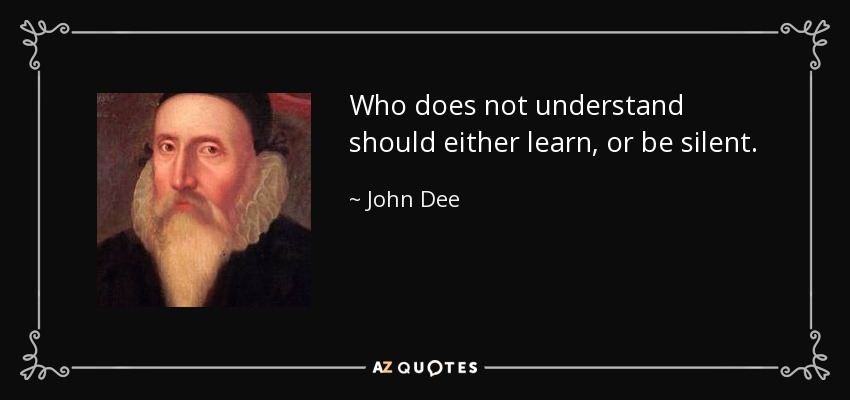 TOP 10 QUOTES BY JOHN DEE | A-Z Quotes