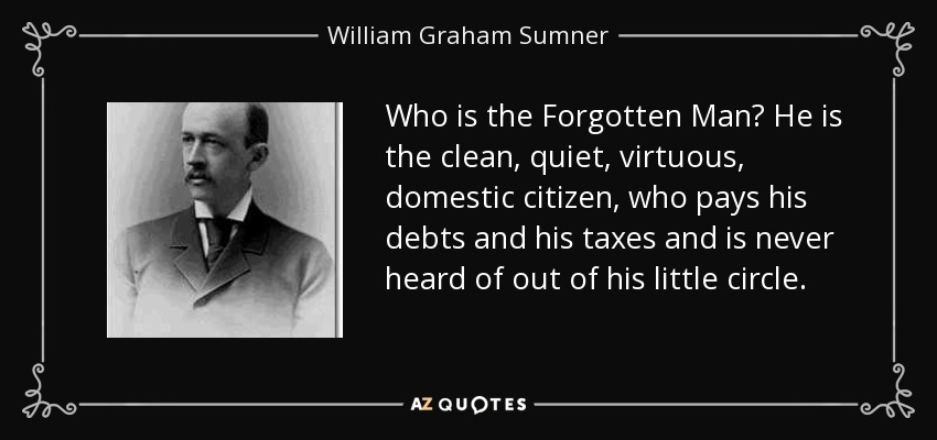 college essays on william graham sumner The forgotten man and other essays 0 views william graham sumner william graham sumner was one of the founding fathers of american sociology.