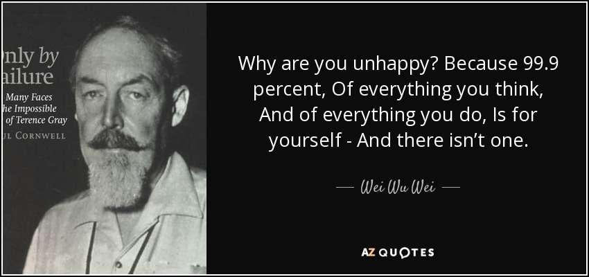 Top 25 Quotes By Wei Wu Wei A Z Quotes