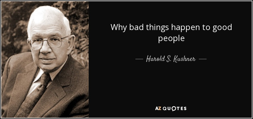 why bad things happen to good people pdf